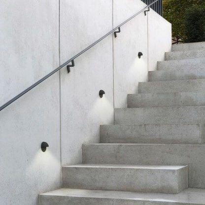 kinkiet zewnętrzny oświetlenie schodów