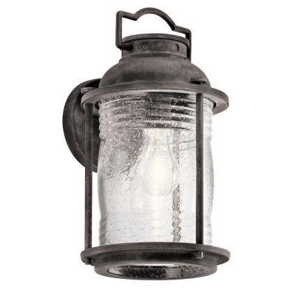kinkiet zewnętrzny podobny do lampy naftowej