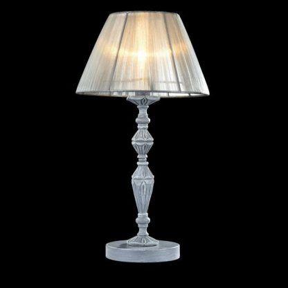 klasyczna lampa stołowa do sypialni z abażurem