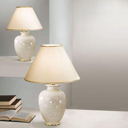 klasyczna lampa stołowa z efektem pęknięć