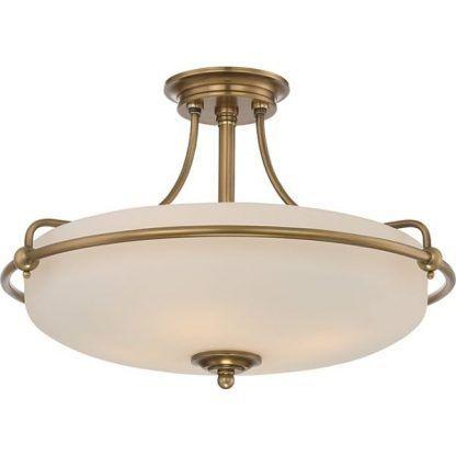 klasyczna lampa sufitowa do salonu szklana