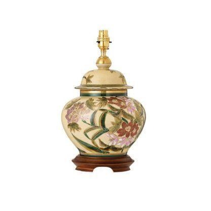 klasyczna porcelanowa lampa stołowa z porcelany
