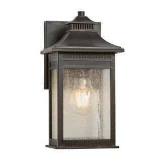 klasyczny kinkiet zewnętrzny - oświetlenie elewacji
