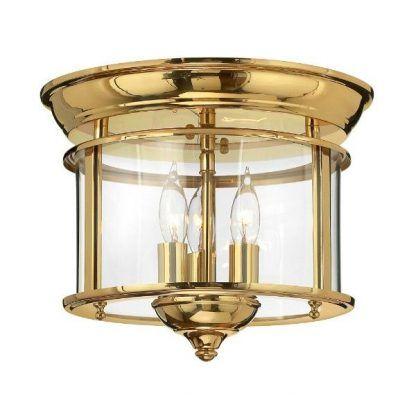klasyczny plafon w złotej oprawie świecznikowy