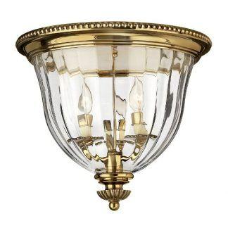 klasyczny szklany plafon w złotej oprawie