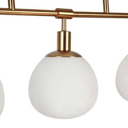 Klosz lampy Erich z mlecznego szkła - lampa wisząca
