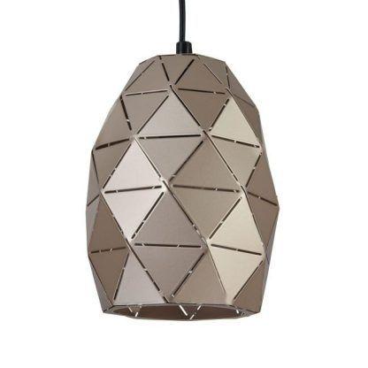 Klosz lampy Louvre - geometryczny kształt