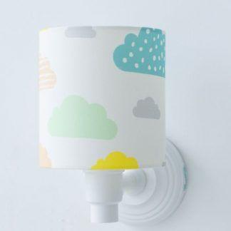 kolorowa lampa dla dziecka - na ścianę
