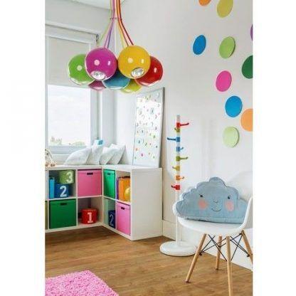 kolorowa lampa wisząca aranżacja pokój dziecka