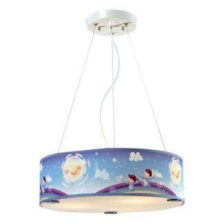 kolorowa lampa wisząca do pokoju dziecka