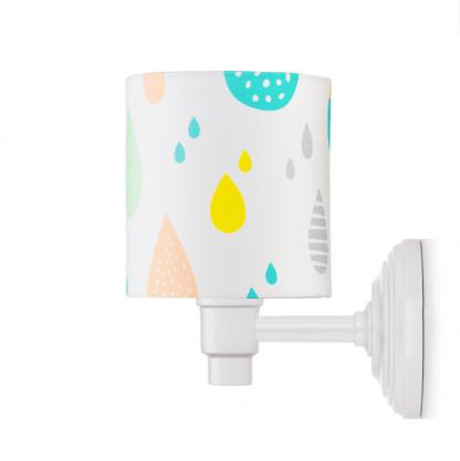 kolorowe lampy na ścianę dla dziecka
