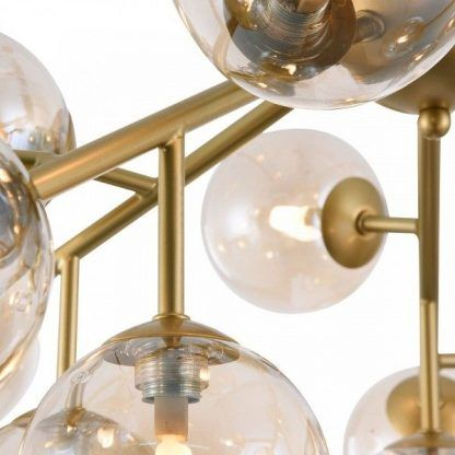 kule szklane do żyrandola nowoczesnego