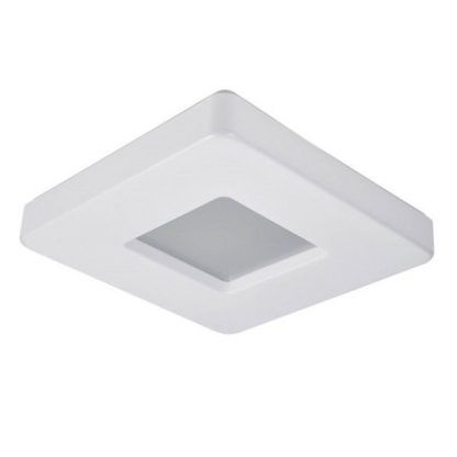 kwadratowa lampa sufitowa led w dekoracyjnym kształcie