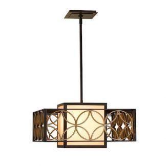 kwadratowa lampa wiszaca do małego ciemnego stołu