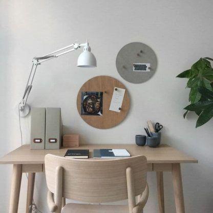 lampa biurkowa nowoczesna przywieszana do ściany z regulacją