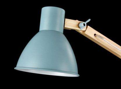 lampa biurkowa z regulowanym kloszem