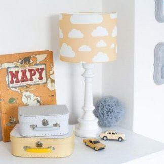 Lampa do pokoju dziecięcego z motywem chmurki
