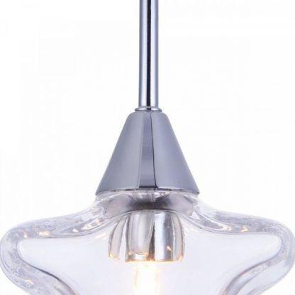 lampa gwiazda - szklana