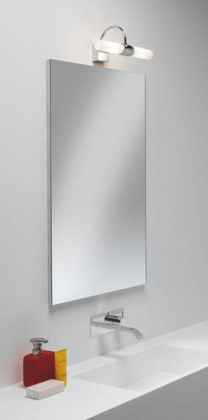 lampa nad lustro szklana wygięta