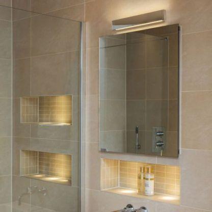 lampa nad lustro w łazience - ledowa podłużna