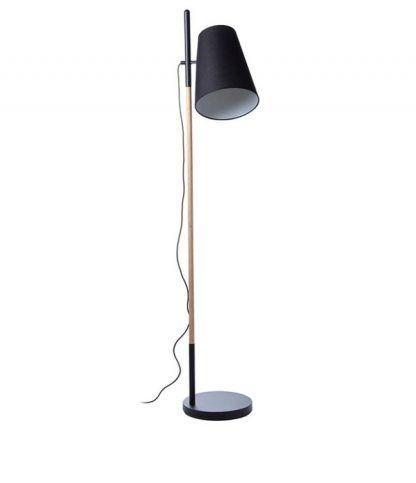 Lampa podłogowa Hideout - czarna
