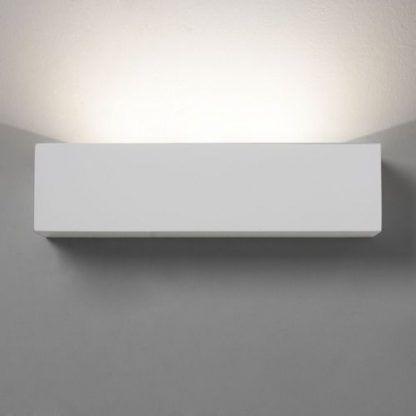 lampa ściana z gipsu na korytarz nowoczesny