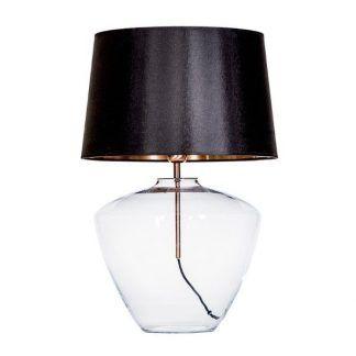 lampa stojąca do eleganckiej sypialni na szafkę nocną
