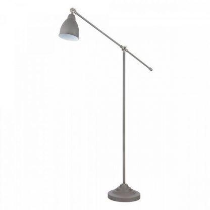 lampa stojąca z przechylanym ramieniem klosza