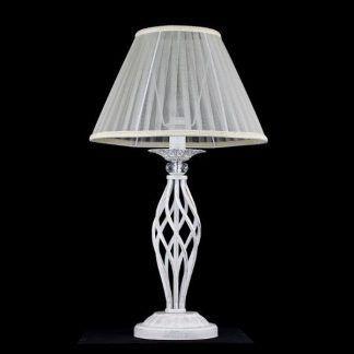 lampa stojąca z wykręconą podstawa - druty