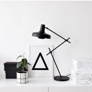 lampa stołowa na komodę - dekoracyjna i designerska