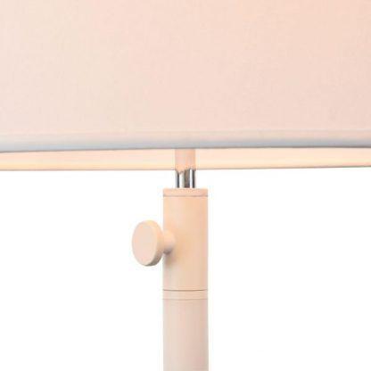 lampa stołowa biała do sypialni