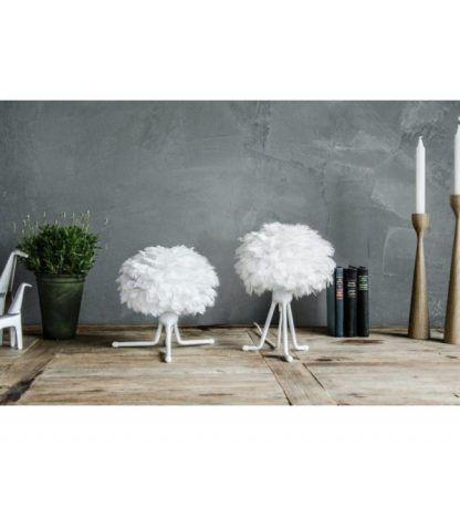 lampa stołowa eos z piór trójnóg stołowy