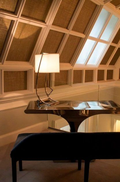lampa stołowa modern classic aranżacja biuro