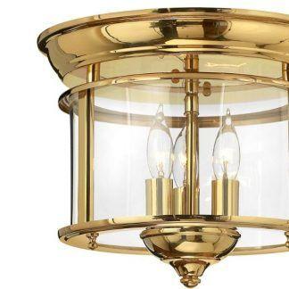 lampa sufitowa klasyczna wysoki połysk złoto