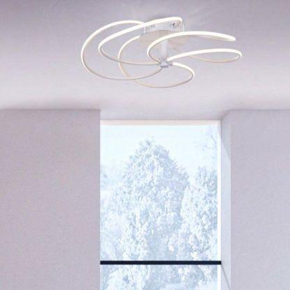lampa sufitowa led do małego pokoju