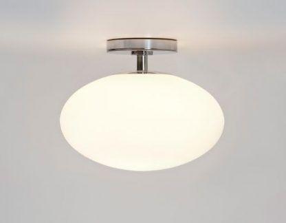 lampa sufitowa okragła szklana z uchwytem