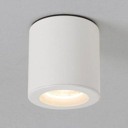 lampa sufitowa tuba - oczko spot białe nowoczesne