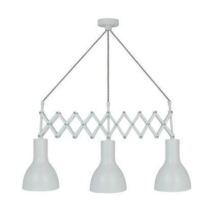 lampa wisząca 3 klosze do kuchni skandynawskiej