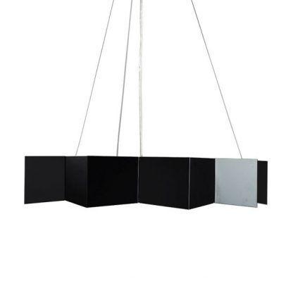 lampa wisząca czarna gwiazda nad stół nowoczesna