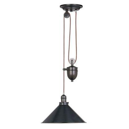 lampa wiszaca czarna w stylu industrialnym - super