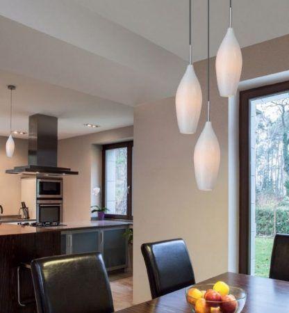 lampa wisząca do jadalni nad stół drewniany brazowy