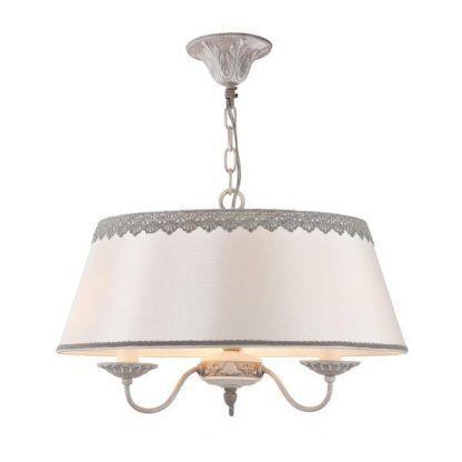 lampa wisząca do klasycznej kuchni jasny abażur