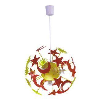 lampa wisząca do pokoju dziecka kolorowa