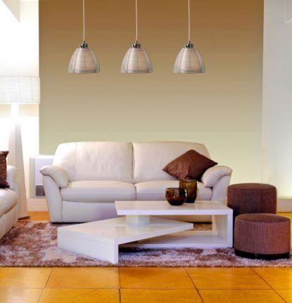 lampa wisząca do salonu aranżacja nowoczesna