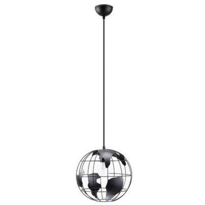 lampa wisząca druciana globus