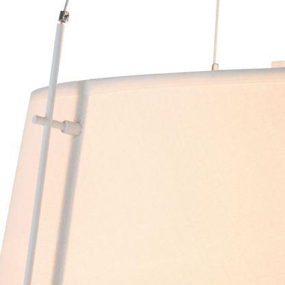 lampa wisząca duża z białym abażurem