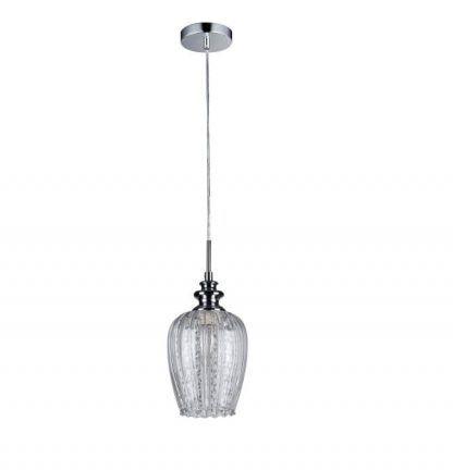 lampa wisząca glamour nad stół w salonie - ekskluzowyna