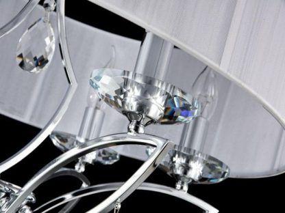 lampa wisząca klasyczna z kryształkami
