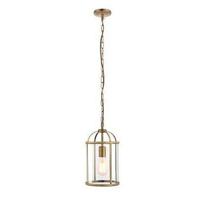 lampa wisząca klasyczna złota klatka