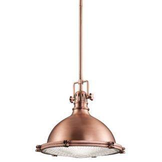 lampa wisząca miedziana w stylu loft do jadalni